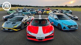Chris Harris vs 2021's Best Performance Cars   Top Gear Magazine Speed Week   Top Gear