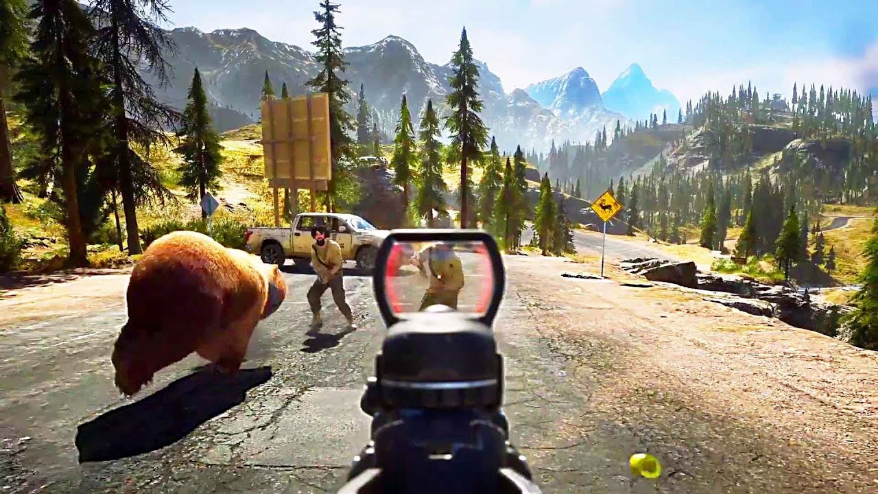 far cry 5 nouvelle bande annonce 2018 ps4 xbox one pc youtube. Black Bedroom Furniture Sets. Home Design Ideas