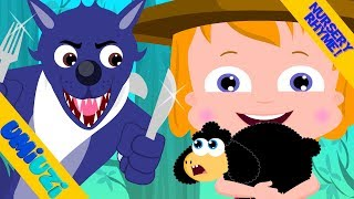 Umi Uzi Wolf And The Sheep Big Bad Wolf Original Songs For Kids Nursery Rhymes For Baby