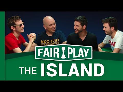 PV Nova, Davy et Axel dans The Island   FAIRPLAY