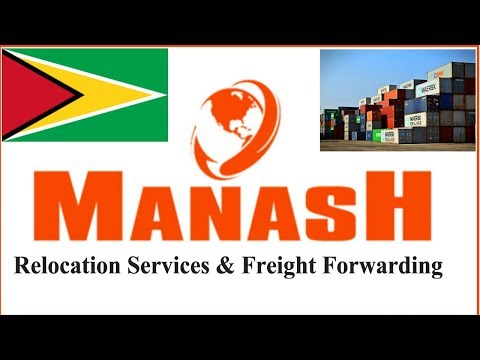 Moving house relocation and Freight Forwarder services in Guyana | shipping company
