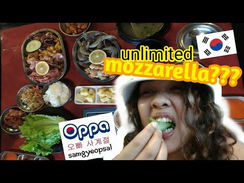 OPPA SAMGYEOPSAL | UNLIMITED KOREAN BBQ | NHAM CHA (milktea)