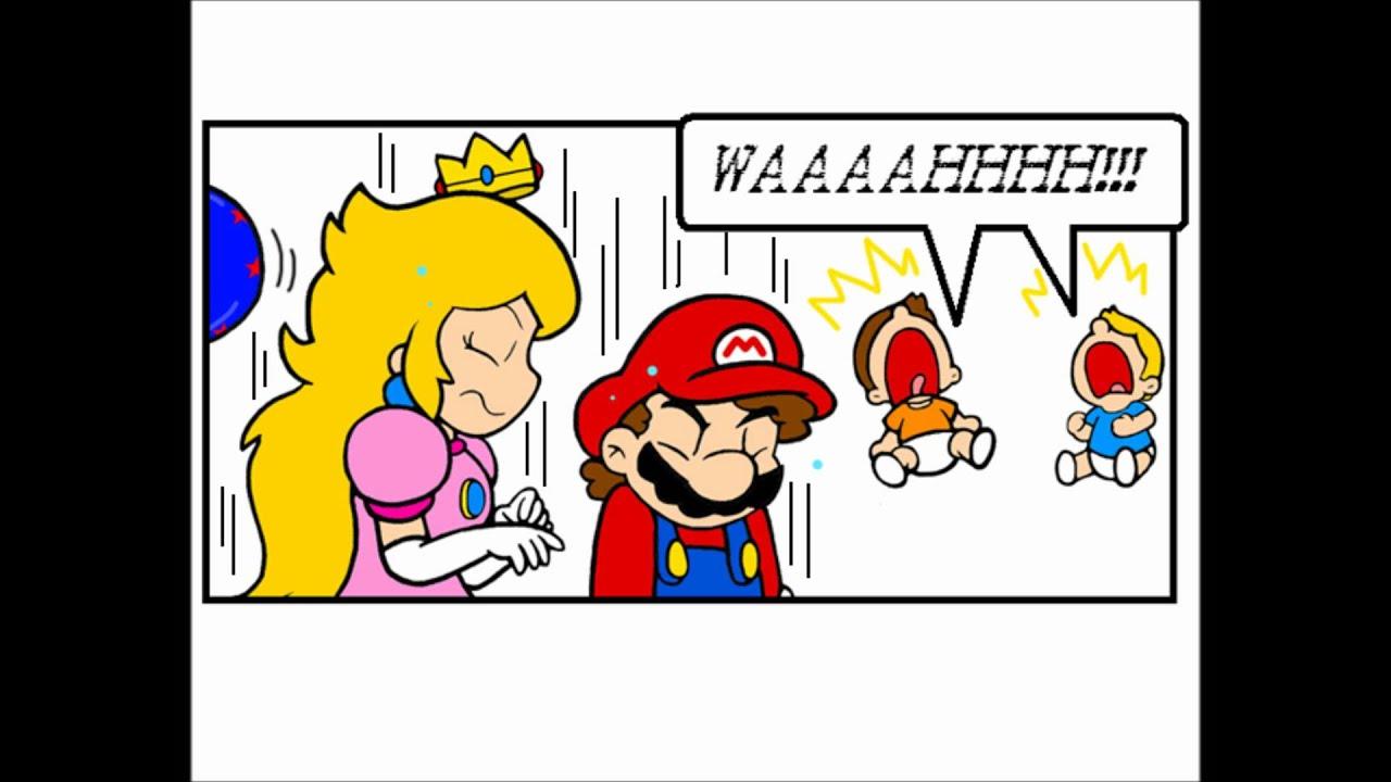 Hi I M Pregnant Part 2 Mario Comics Youtube