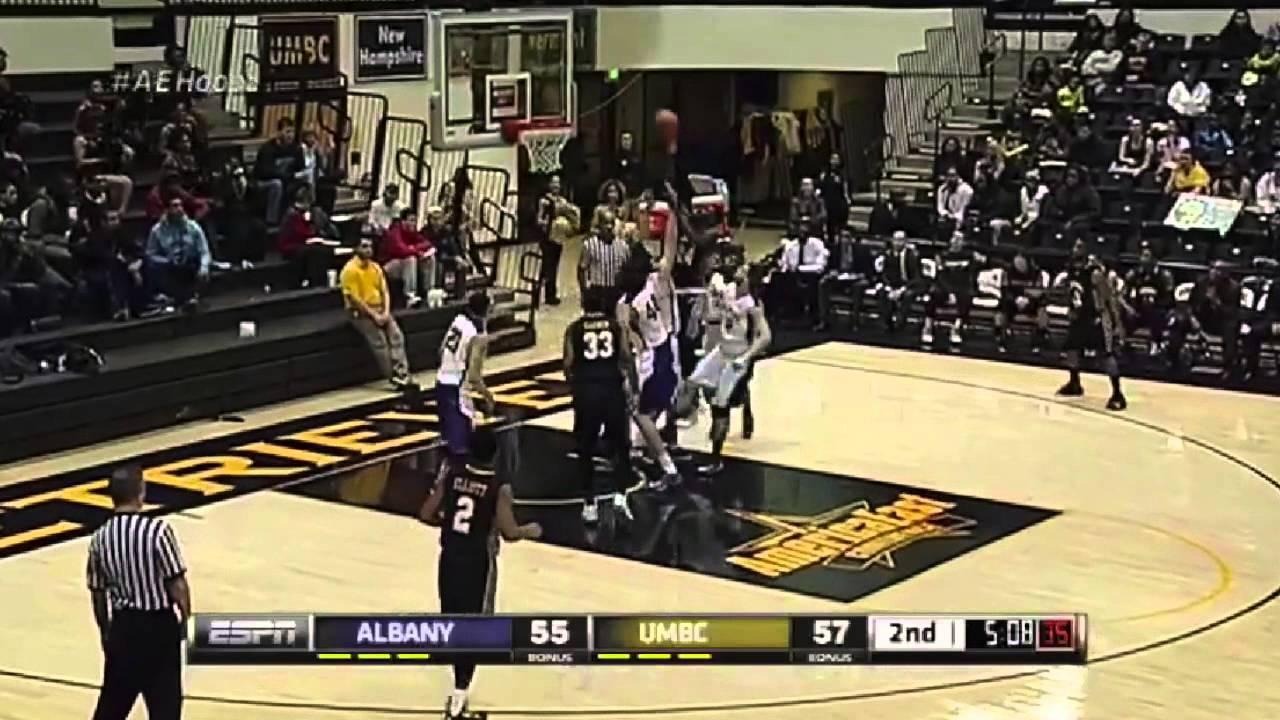 4cc0e617ff3 UMBC Men's Basketball vs Albany 2/12/14 Highlights - YouTube