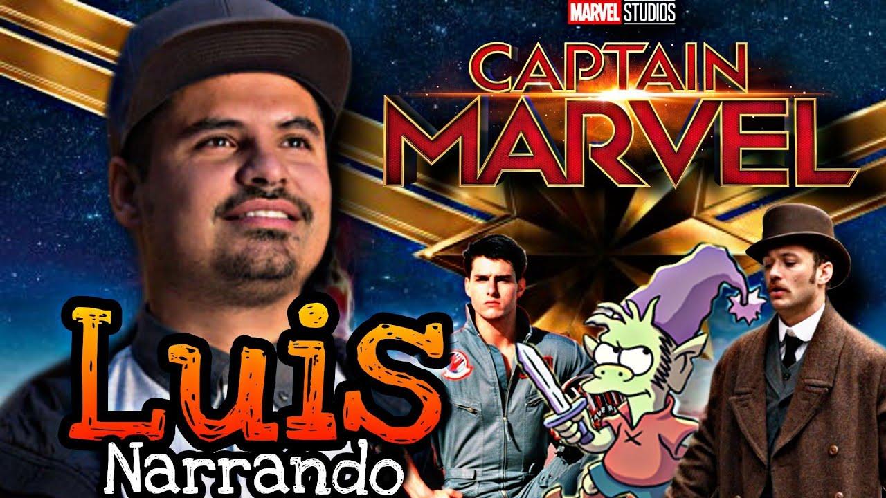 Capitana MARVEL Narrada por LUIS