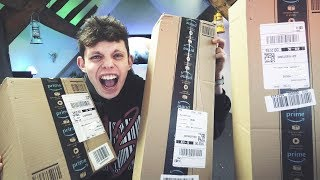 Massive TECH haul unboxing and lots oF DRONES!!