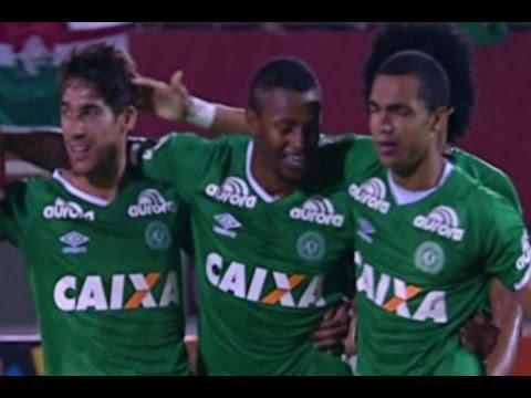 Gol Dener Assunção, Fluminense 1 x 2 Chapecoense - Série A 15/09/2016