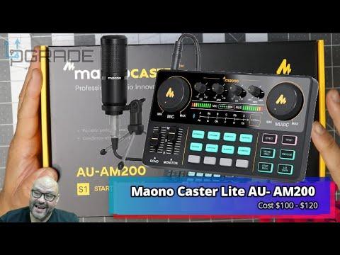 Download Maono ALL-IN-ONE Studio Mixer