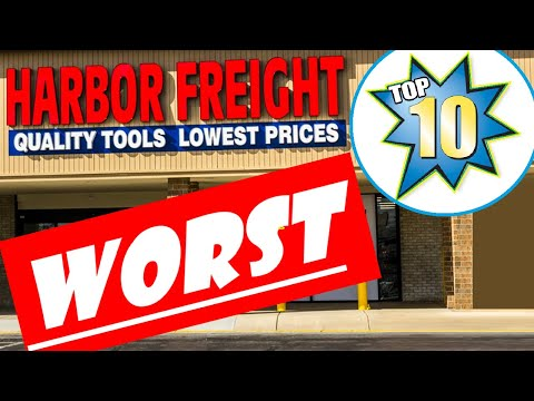 Top 10 Worst Tools From Harbor Freight (Updated For 2019)