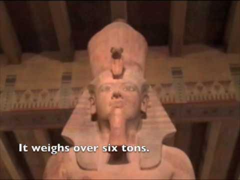 A Statue of Tutankhamun