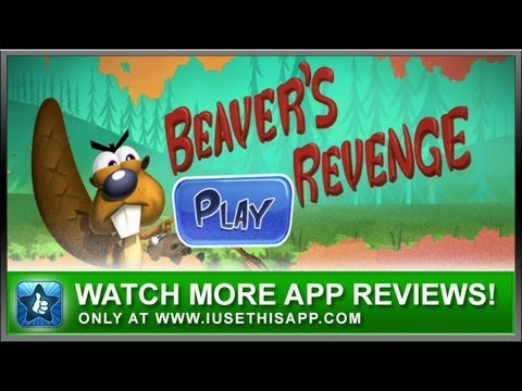 Beavers Revenge for iPhone - App Review - iPhone Games