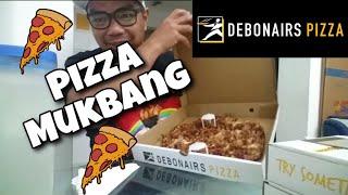 Vlog#178 DEBONAIRS PIZZA MUKBANG + BUFFALO WINGS AND POP ITZ I PINOY MUKBANG