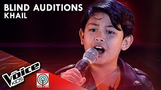 Salamat by Khail Samson | The Voice Kids Philippines Blind Auditions 2019