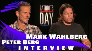 Mark Wahlberg And Peter Berg Exclusive PATRIOTS DAY Interview