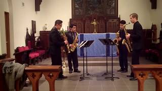 J.S. Bach Italian Concerto Movement 3 – Meraki Quartet