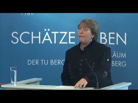 Ehrenpromotion für Michelle Bachelet