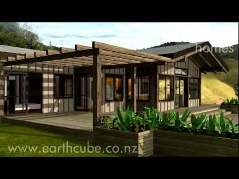 earthcube ohauiti - shipping container homes - new zealand - youtube