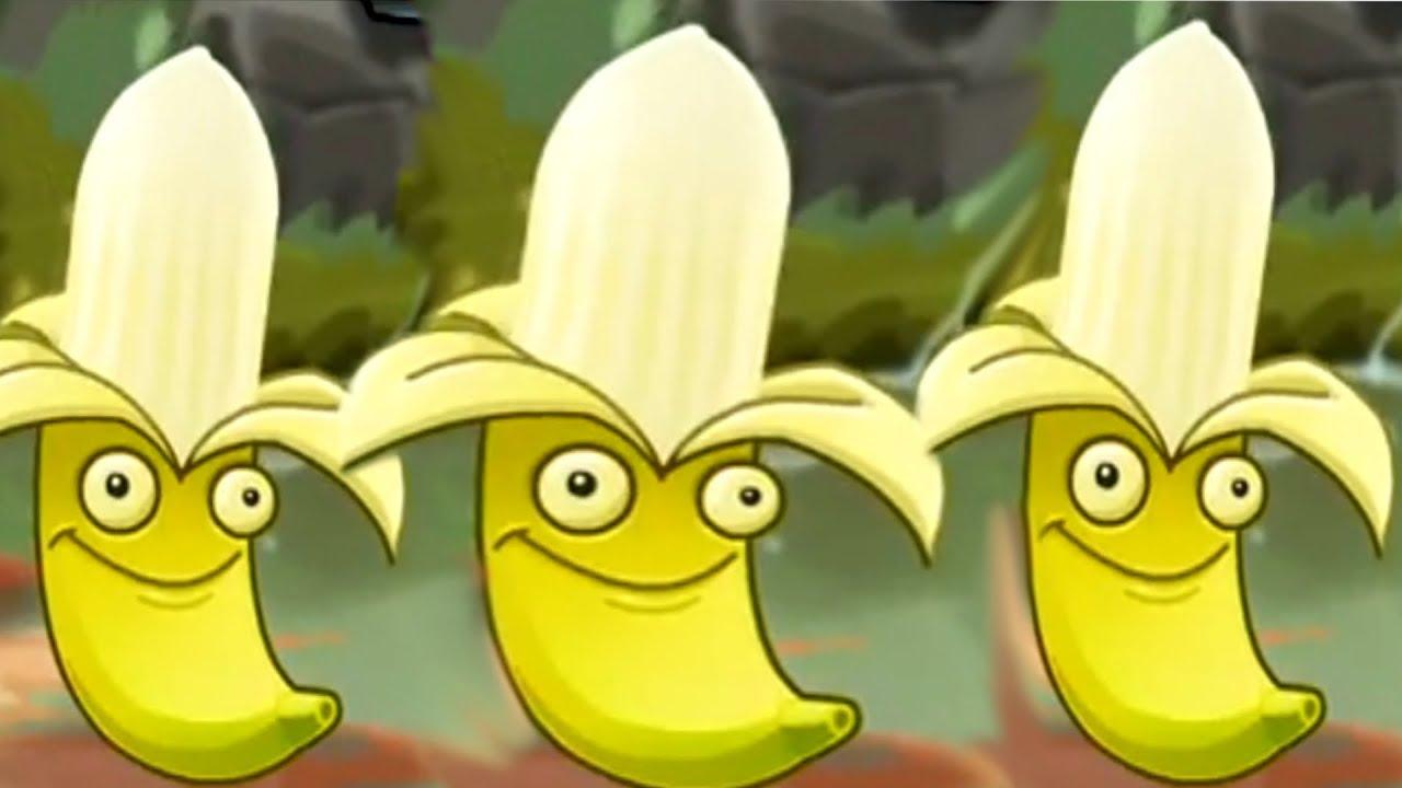 plants vs zombies 2 banana launcher youtube