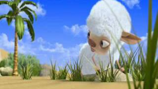 animated film sheep in the island