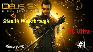 Are you ready for Deux Ex Mankind Divided  Get ready with this walkthrough  Deus Ex Human Revolution