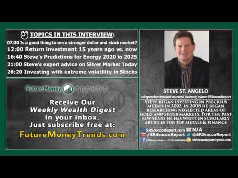 Peak Oil: Energy Industry in Crisis - Steve St Angelo Interview, SRSRoccoReport.com