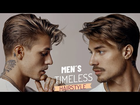 Timeless & Classic Hairstyle - Men's Hair Inspiration