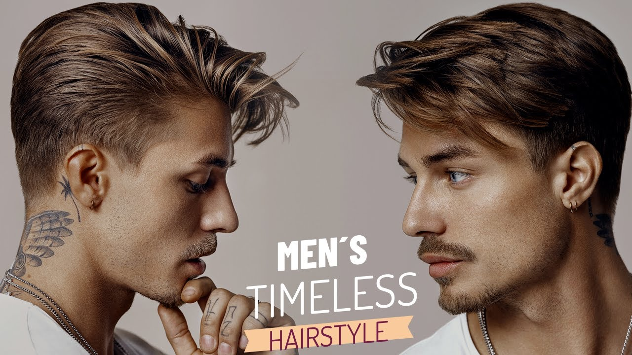 Timeless & Classic Hairstyle   Men's Hair Inspiration