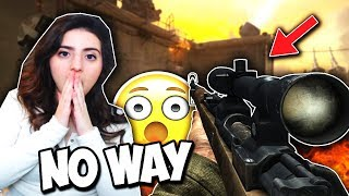 BEST SNIPER is becoming the WORST ... (INSANE COD WW2 Sniping Only Gameplay)