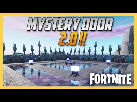 Fortnite Creative Mystery Door Surprise VERSION 2! Code Inside | Swiftor