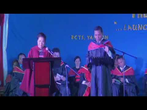 Dr. Anna Sui Hluan (Vice President's Wife - Sermon in English (BCTS - Yangon)