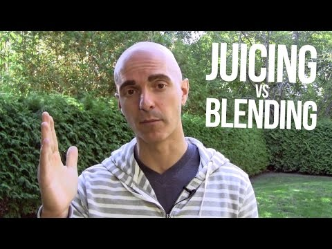#AskYuri: What's the difference between juicing and blending?