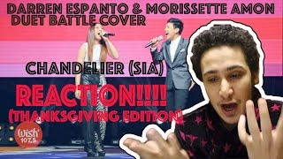 Lyrics: Darren And Morissette Singing Chandelier