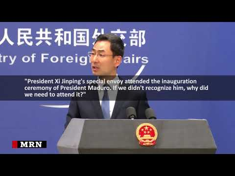 Beijing reaffirms support for Maduro
