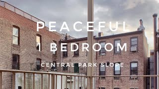 Peaceful 1 Bedroom Apartment with Outdoor Space in Central Park Slope! Video Tour NYC Brooklyn NY