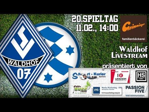 20.Spieltag: SV Waldhof - Stuttgarter Kickers