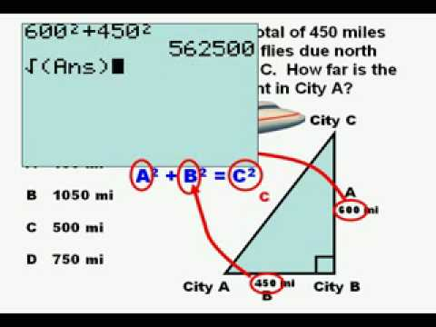 Finding the missing side of a right triangle youtube ccuart Gallery