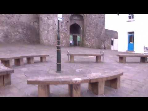 Travel Guide Carmarthen Castle Carmarthanshire South Wales UK