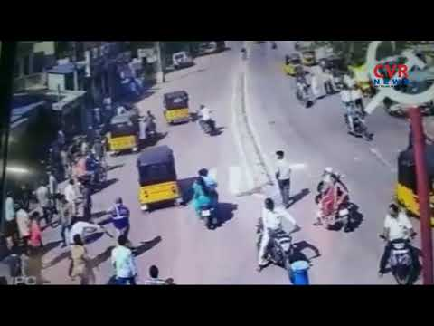 Unknown Persons Attack On Police Constables   Hyderabad   CVR News