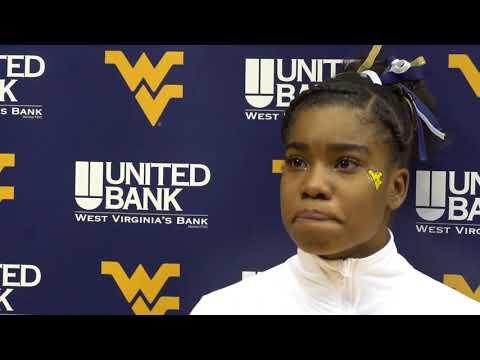 Gymnastics: Zaakira Muhammad Pitt/Maryland Post-Meet   2/18/18