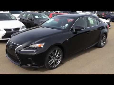 Brand New Black On Red 2015 Lexus Is 350 Awd F Sport