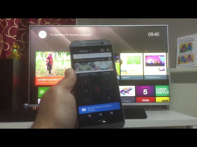 Sony Bravia Android Smart TV Remote Control Android App | Peel TV Remote  App | 2018 | Smart TV Apps