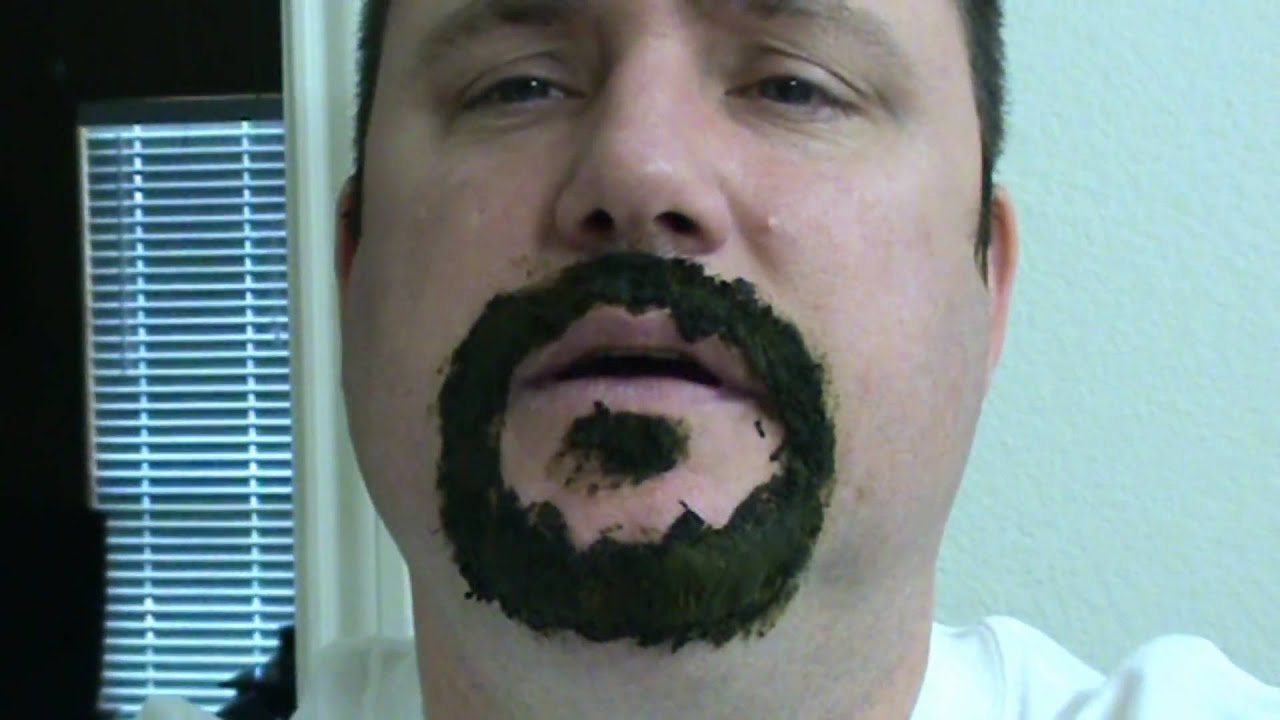 All natural beard dye - YouTube