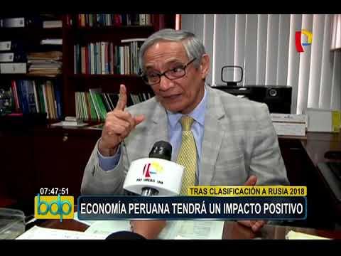 Perú al Mundial Rusia 2018: economía tendrá un impacto positivo