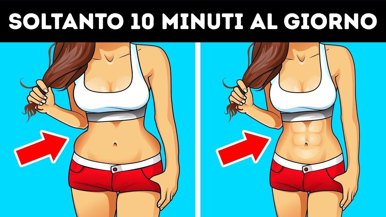 modi semplici per perdere il grasso della pancia