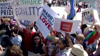 Evolution of gay marriage support in US