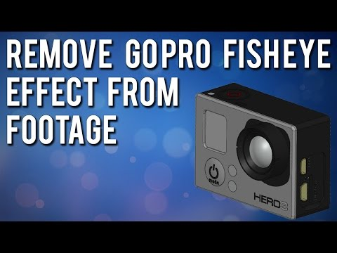Remove Fisheye Effect From GoPro Videos/Photos For Free!