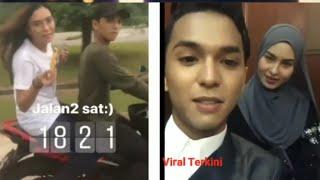 Fuh Laju Giler Aiman Tino Bawak Motor Y150&Wany Hasrita Terkejut Aiman Tino Ambik Videonya Di ASK 17