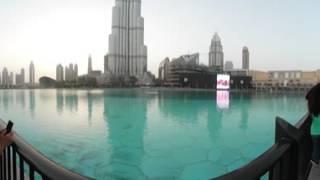 Burj Khalifa - Dubai Mall 360 video 4K Quality - 2