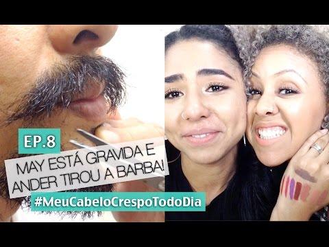 #MCCTD Ep.08| MAY GRÁVIDA E ANDER TIROU A BARBA!!!