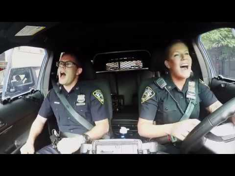 NYPD respond to Boston 'cop pool karaoke,' sings  Katy Perry's 'Firework'
